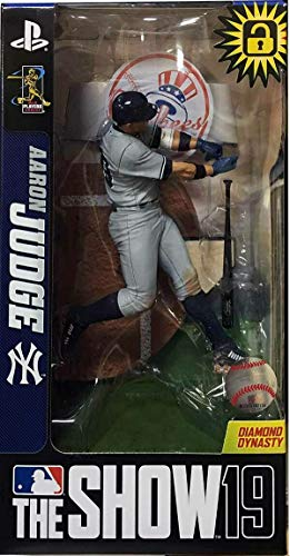 Aaron Judge (New York Yankees) MLB The Show 19 Surprise Limited Chase Figure - Gray Uniform