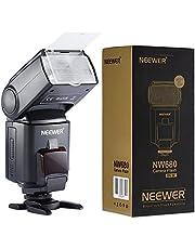 Neewer NW680/TT680 - Flash de Cámara Speedlite, HSS E-TTL para Canon 5D Mark 2 6D 7D 70D 60D 50Dt3I T2I y Otras Cámaras DSLR Canon , Negro
