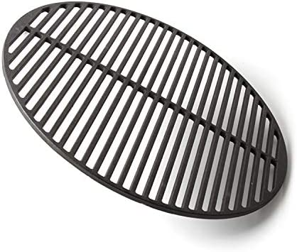 YNNI KAMADO Grille Ronde en Fonte pour Barbecue 49,5 cm 5,7