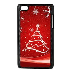 diy zhengiphone 5c Generation Back Protective Case - Cute Christmas Snowflake Design Case Perfect as Christmas gift(4)