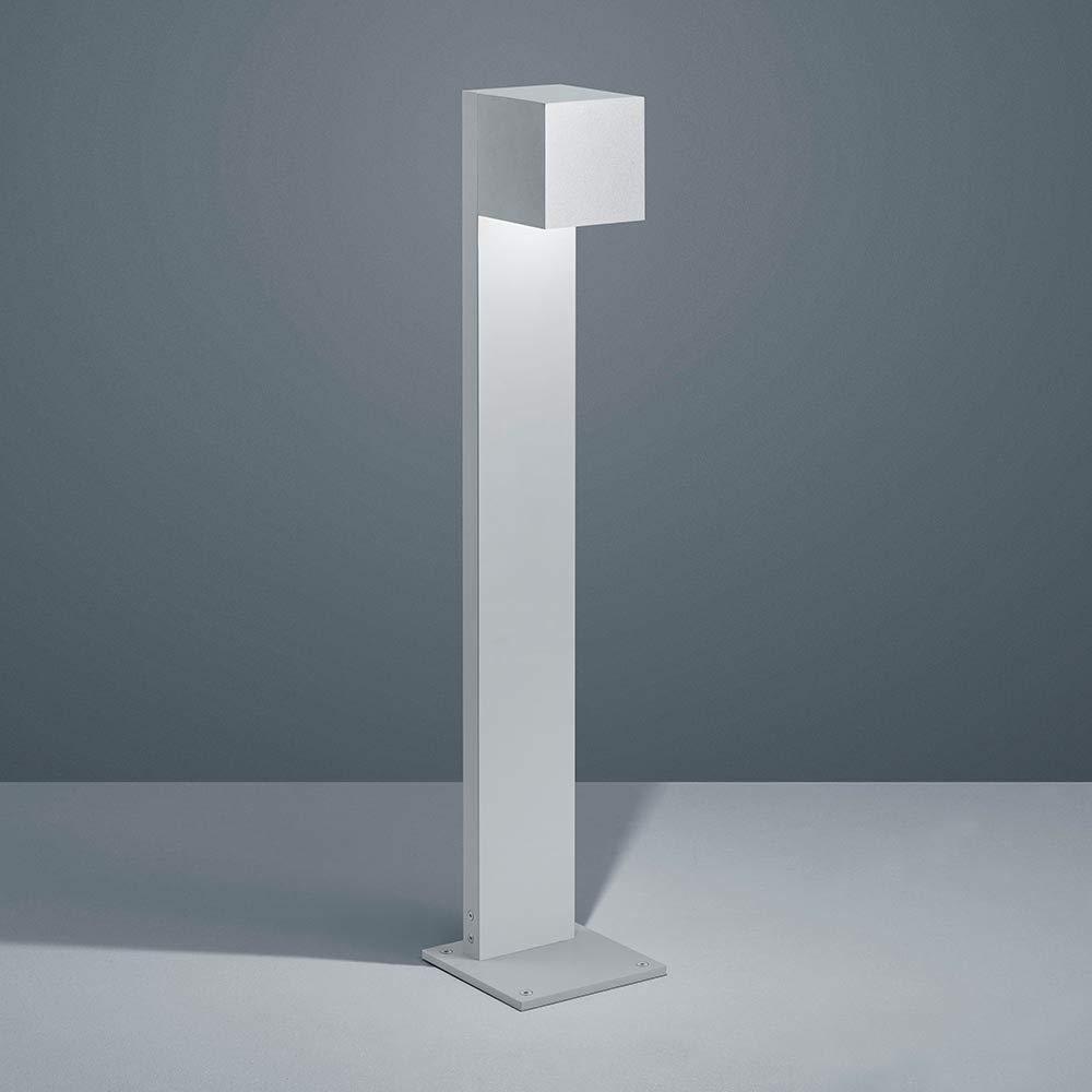 Helestra Siri 44 - Lampada a LED grigio argentato