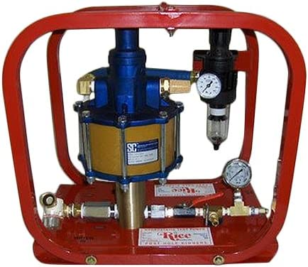 Rice Hydro HP-35/20 Pneumatic Hydrostatic Test Pump with Pressures
