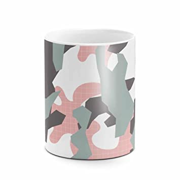 pink camouflage camo best birthday or anniversary gifts unique present idea funny christmas gift idea white