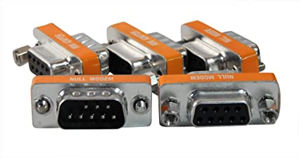 RS232 Adapter 5 Pack Your Cable Store DB9 Male To Male 9 Pin Serial Port