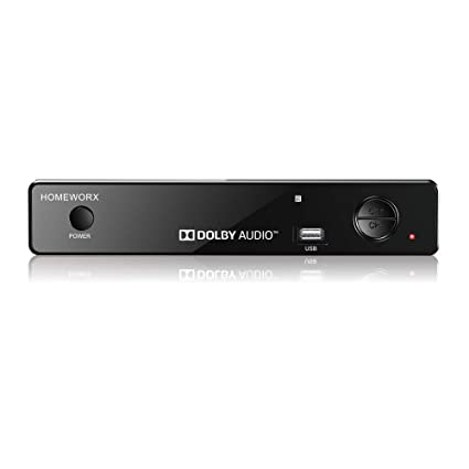Mediasonic HomeWorx ATSC Digital Converter Box w/ TV Recording, Media  Player, and TV Tuner Function (HW-150PVR)