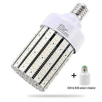 80W LED Corn cob Light Bulb, Large Mogul Base E39 LED Bulbs,5000K Daylight AC110-277V,LED Replacement 250W Metal Halide HID HPS for steet Area Warehouse Parking lot High Bay Canopy shoebox Fixture