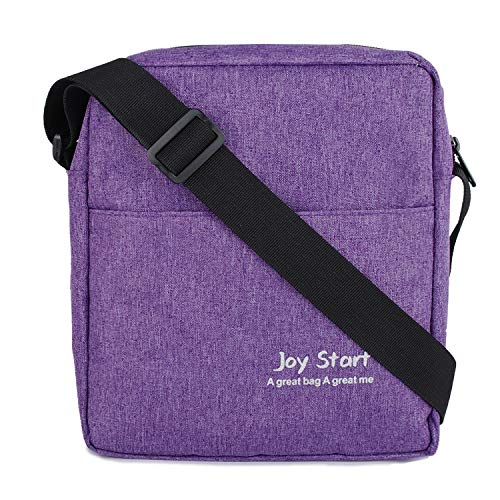 - Victoriatourist Vertical Messenger Bag for iPad-Mini and Tablets Upto 8.1-Inch (Purple)