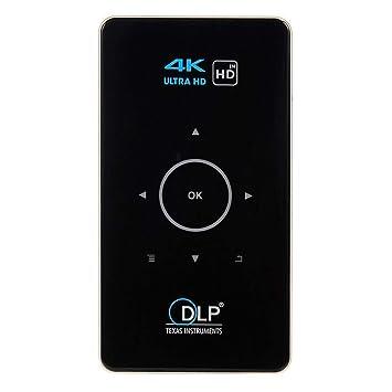 Rokoo Mini Projecteur 4k Hd 1080p Avec Des Projecteurs Futes De Dlp