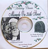 Miracle On 34th Street-Live Radio Theater-Holiday Classic 1948-Audio CD
