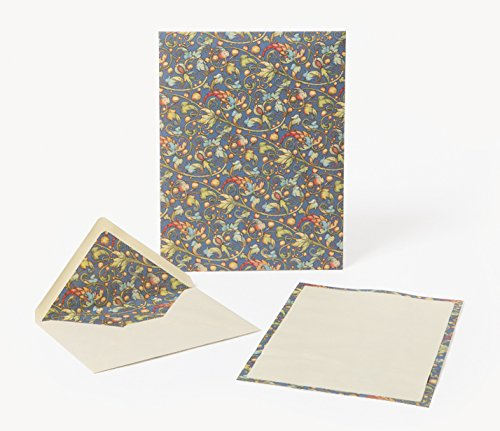 Ramis (Vines) Sheets and Envelopes Portfolio: Italian Stationery, Florentine Paper