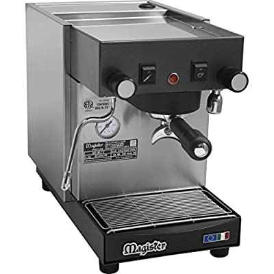 Magister MS40 Stilo Tall Heat Exchange Semi-automatic Commercial Espresso Machine - reservoir, ETL (B311)