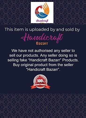Handicraft Bazarr Housse de lit en coton doux avec motif cachemire imprimé vintage Kantha fait main