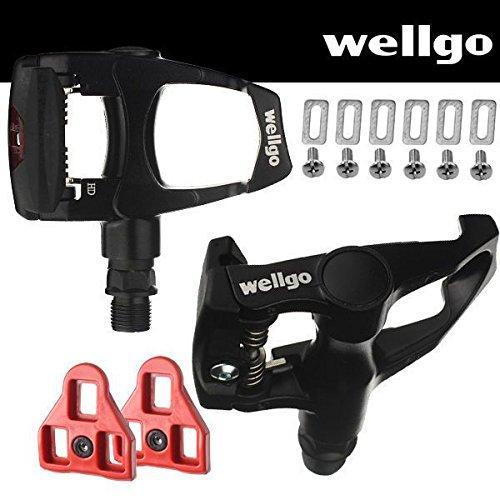 Wellgo Bike Look Delta  Compatible - Indoor Cycling & Road B