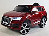 battery barbie car - NEW LICENSED AUDI Q7 Ride on car WITH REMOTE CONTROL. BATTERY 12V total. MP3. ELECTRIC KIDS CAR. RIDE ON TOY Power wheels.