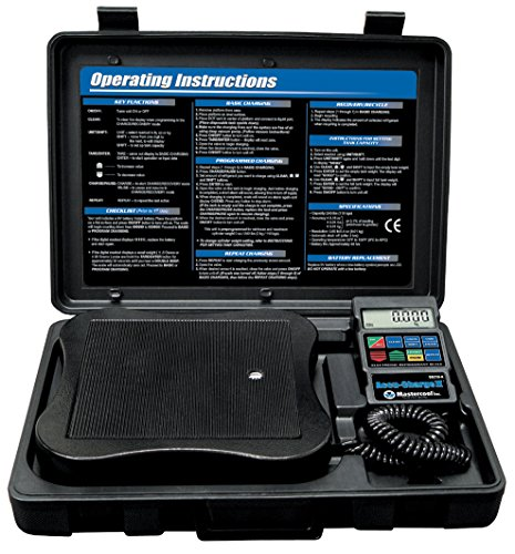 Mastercool 98210-A Electronic Refrigerant Scale by MASTERCOOL