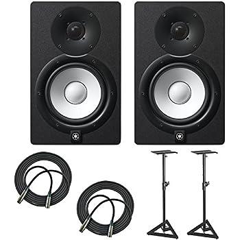 yamaha hs7 100 watt series monitor black 2. Black Bedroom Furniture Sets. Home Design Ideas