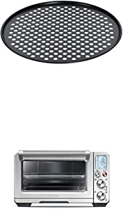 Breville BOV800PC13 13-Inch Pizza Crisper for use with the BOV800XL Smart Oven with Breville BOV900BSS Convection and Air Fry Smart Oven Air, Brushed Stainless Steel