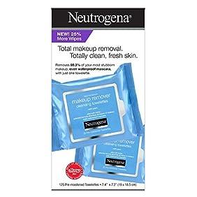 Neutrogena Make Up Remover Facial Wipes (125 CT)