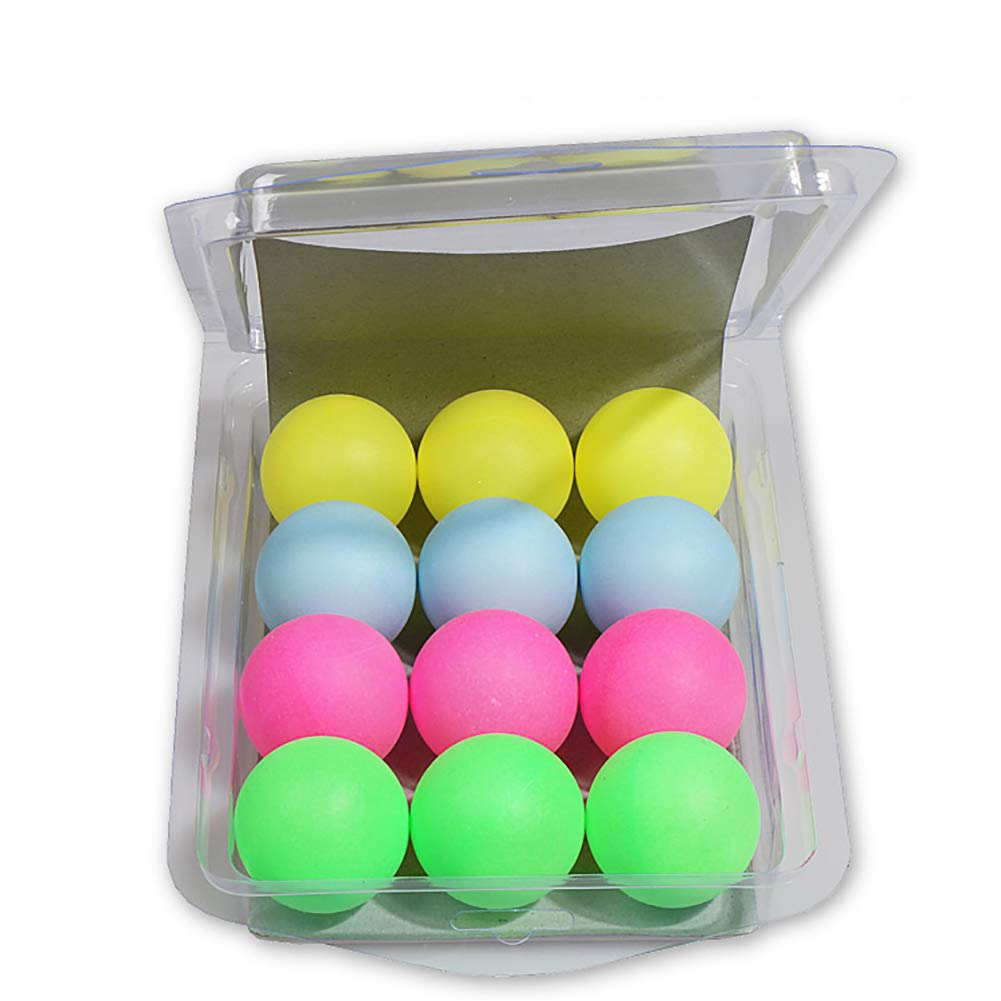 Plastic Table Tennis Ball for Party Favors Crafts or Cats Dogs Toy- Random Color Delivery Carnival Games Doyime Colored Ping Pong Balls 40mm