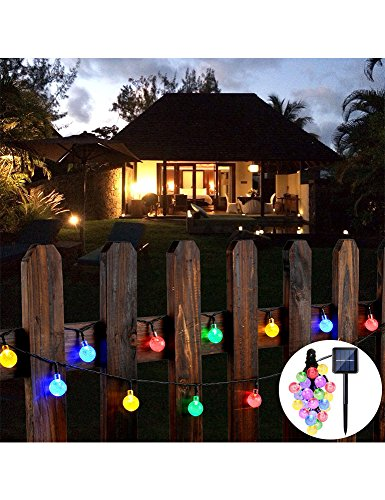 Outdoor String Light Set Acrylic Globes