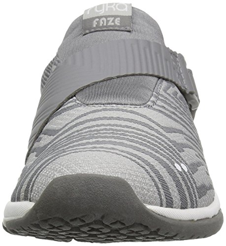 Ryka Womens Cross-trainer Scarpa Da Cross Grigio / Grigio Chiaro