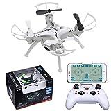 Contixo F3 RC Quadcopter Drone, Silver