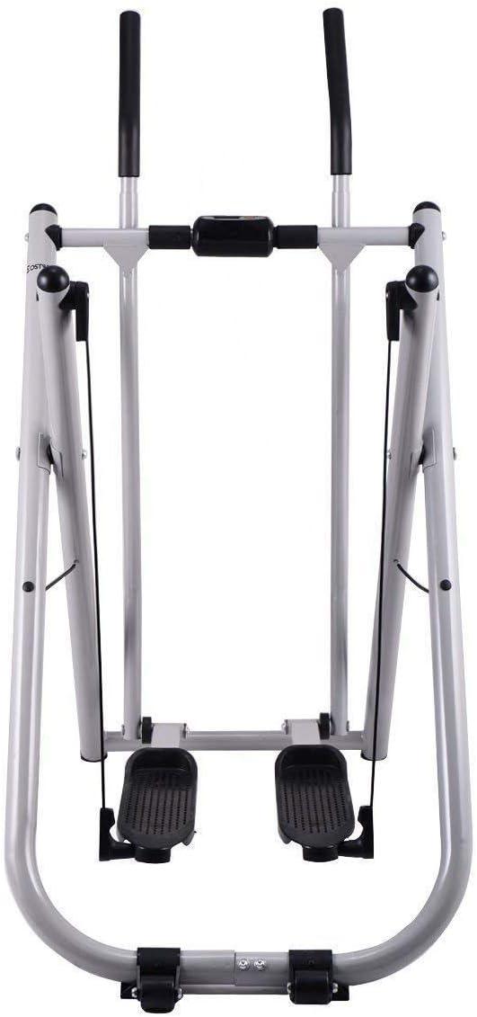 اللياقة البدنية للطي المشي مدرب الهواء ممارسة اللياقة البدنية المنزلق الخطوة آلة