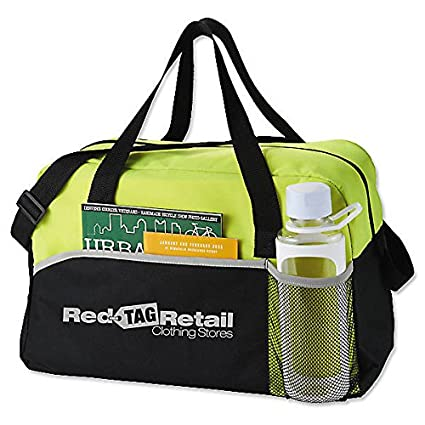 eedd945d457 Image Unavailable. Image not available for. Color  50 Logo Duffle Bags   Gym  Bags Energy Duffel   Screen Printed ...