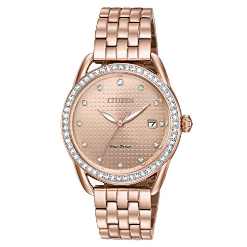 - Ladies' Drive from Citizen LTR Rose Gold-Tone Stainless Steel Watch FE6113-57X