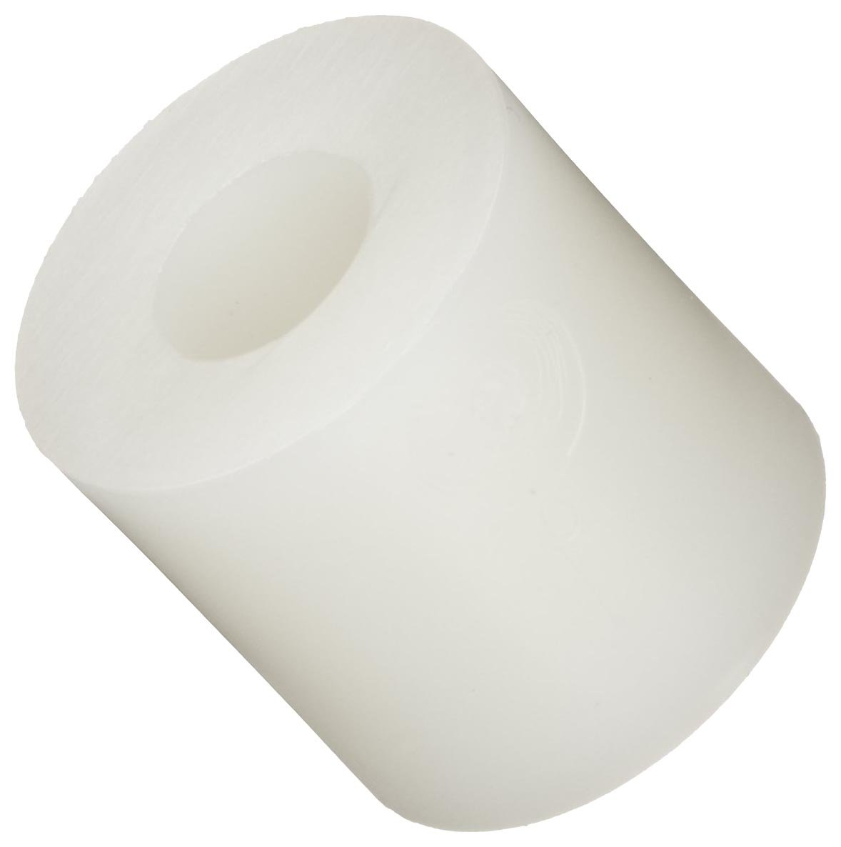 Pack of 100 Round Spacer Nylon Off-White #6 Screw Size 0.047 Length