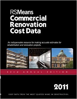 Book RSMeans Commercial Renovation Cost Data