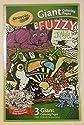 Crayola Giant Fuzzyカラーリングジャングルポスター( 3Piece )
