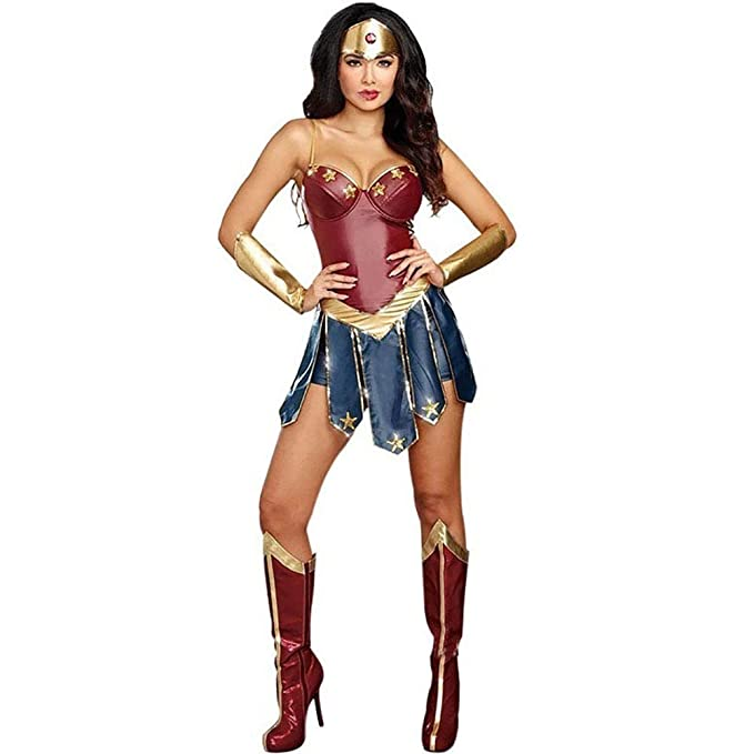 Story of life Halloween Wonder Woman Costume Cosplay Hero ...