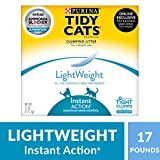 Purina Tidy Cats Lightweight Instant Action Multiple Cats Clumping Cat Litter - 17 LB. Box