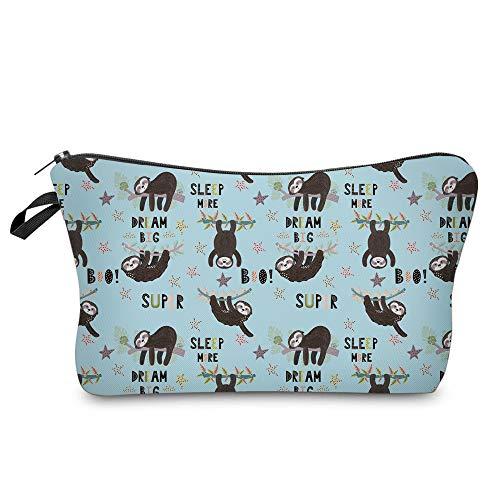Cosmetic Bag for Women,Loomiloo Adorable Roomy Makeup Bags Travel Waterproof Toiletry Bag Accessories Organizer Cute…