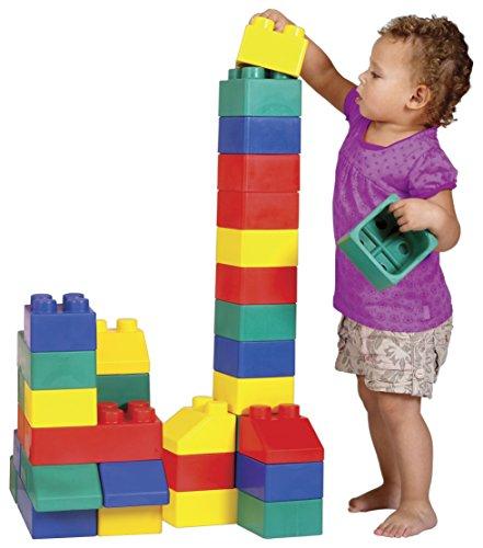 Edushape Edublocks Construction Toy - 50 pcs: Amazon.co.uk: Toys & Games