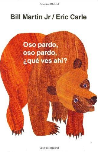 Oso pardo, oso pardo, que ves ahi? pdf epub