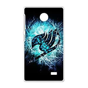 Blue shiny Fairy Tail Cell Phone Case for Nokia Lumia X
