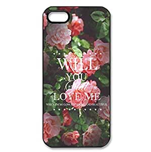 Beautiful Rose theme iPhone 5/5s hard back cover for girls