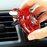 Ambientador De Coche De JDM TURBO Clip de ventilación-que es realmente de giro, Rojo