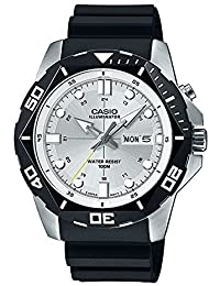 Men's MTD-1080-7A White Dial Super-illuminator Watch