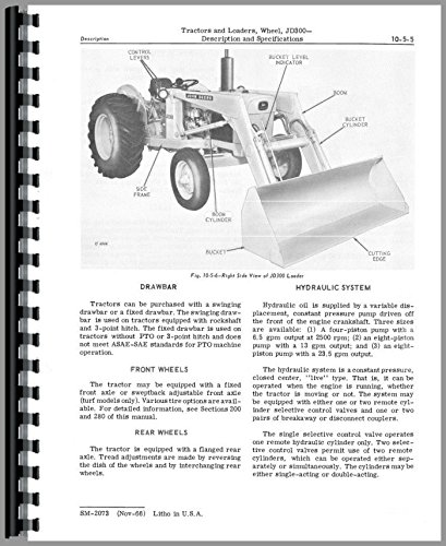 - Service Manual John Deere 300 Wheel Tractor Loader sm2073