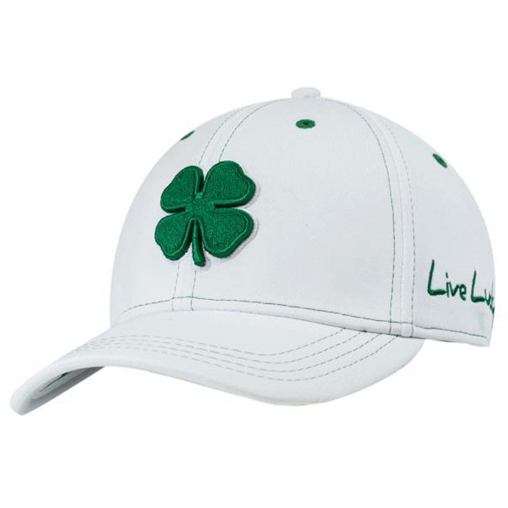 9dacf7d3116ed9 Black Clover Mens Premium Clover #16 Green/White/White Large/X-Large Fitted  Hat - 608938654748 at Amazon Men's Clothing store: