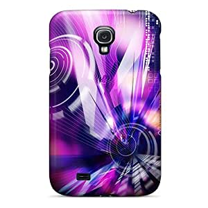 Szsksjs6773MHkel Snap On Case Cover Skin For Galaxy S4(new Abstract)