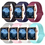 Pack 7 Compatible with Apple Watch Band 38mm...