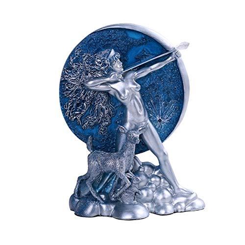 PT Official Oberon Zell Diana Moon Goddess Resin Figurine ()