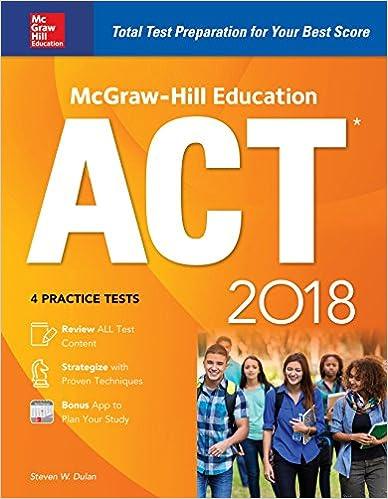 Amazon mcgraw hill education act 2018 mcgraw hill education mcgraw hill education act 2018 mcgraw hill education act 1st edition kindle edition fandeluxe Gallery