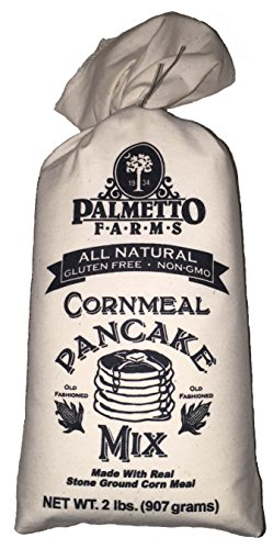 Palmetto Farms Cornmeal Pancake Mix Gluten Free NON GMO - Cornmeal Pancake Mix