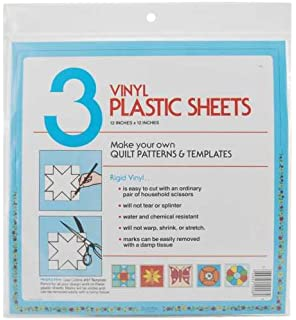 quilters plastic template 12x12