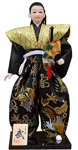 Blancho Bedding Japanese Samurai Figurine Arts Crafts Humanoid Doll Home Office Decor Gift # 11 from Blancho Bedding